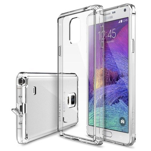 Rearth Ringke Fusion Crystal View + Folia | Etui dla Samsung Galaxy Note 4