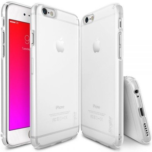 Rearth Ringke Slim Frost White | Obudowa + folia ochronna dla modelu Apple iPhone 6 Plus / 6S Plus