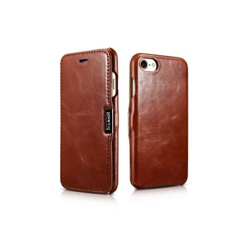 Skórzane etui iCarer Vintage Brown | Apple iPhone 7