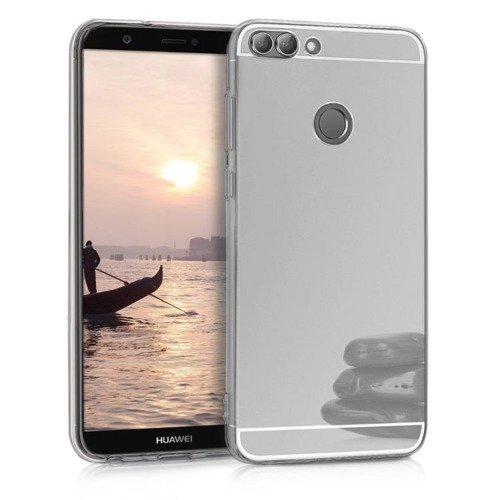Slim Mirror Case Srebrny | Etui dla Huawei P Smart