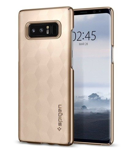 Spigen SGP Thin Fit Maple Gold | Obudowa ochronna dla Samsung Galaxy Note 8