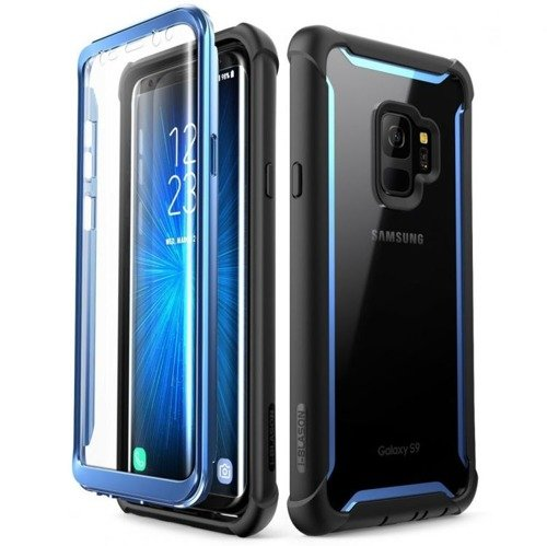Supcase IBLSN Ares Black / Blue Samsung Galaxy S9
