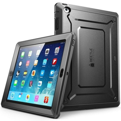 Supcase Unicorn Beetle Pro Black | Obudowa dla Apple iPad 2 / 3 / 4