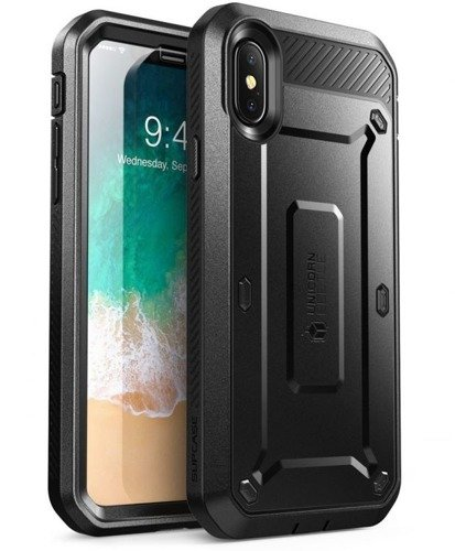 Supcase Unicorn Beetle Pro Black | Obudowa dla modelu Apple iPhone X / 10