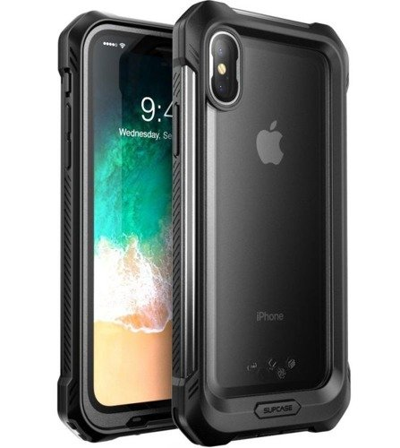 Supcase Unicorn Beetle Storm Frost / Black | Obudowa dla modelu Apple iPhone X / 10