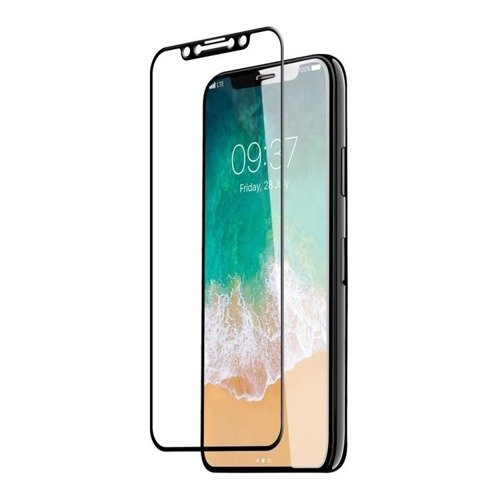 Szkło ochornne JCPAL Hardness Glass Czarne - Apple iPhone X / 10