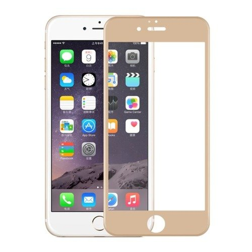 Szkło ochronne Perfect Glass 3D Złote dla Apple iPhone 6 / 6S