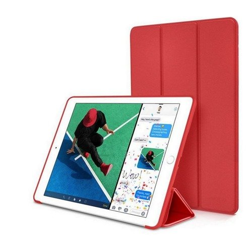 TECH-PROTECT SmartCase Red | Obudowa Apple iPad 9.7 2017 / 2018