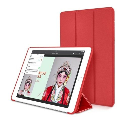 TECH-PROTECT SmartCase Red | Obudowa Apple iPad Pro 10.5