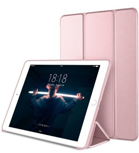 TECH-PROTECT SmartCase Rose Gold | Obudowa Apple iPad 9.7 2017 / 2018