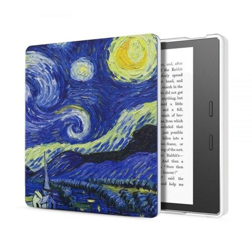 TECH-PROTECT SmartCase Starry Night | Obudowa Kindle Oasis 2 2017