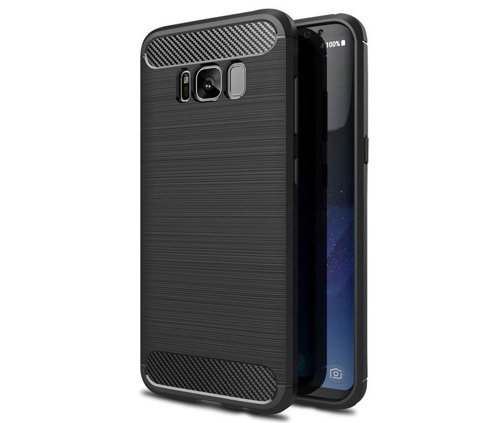 TECH-PROTECT TPUCarbon Black | Obudowa dla Samsung Galaxy S8 Plus