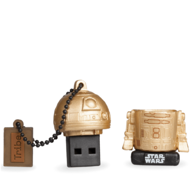 TRIBE Gwiezdne Wojny Gold Edition Pen drive 16 GB R2-D2