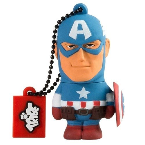 TRIBE Marvel Pen drive 16 GB Capitan America