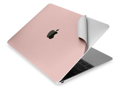 Tech-Protect 3M Skin Rose Gold | Zestaw 3 folii ochronnych do Apple Macbook 12