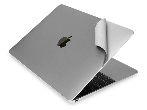 Tech-Protect 3M Skin Space Gray | Zestaw 3 folii ochronnych do Apple Macbook 12