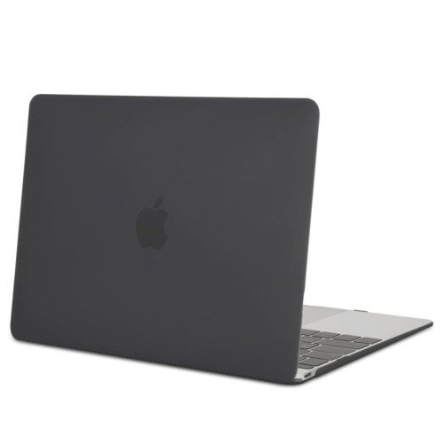 Tech-Protect Smartshell Matte Black | Obudowa ochronna dla Apple MacBook 12