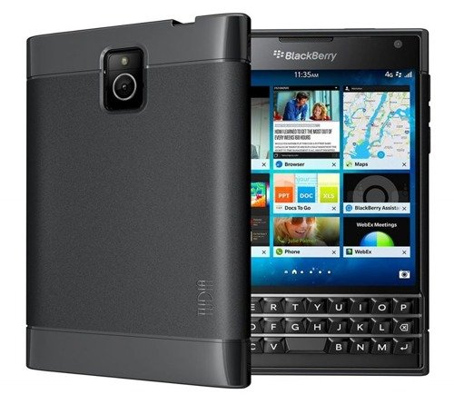 Tudia Lite Black | Obudowa dla BlackBerry Passport