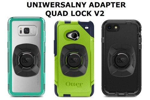 Uniwersalny adapter Quad Lock V2