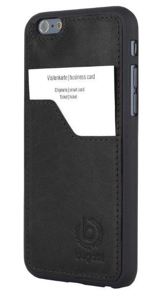 Bugatti Clip On Cover Leather Premium Czarna Oryginalna Obudowa Dla Modelu Apple Iphone 6 Plus 6s Plus