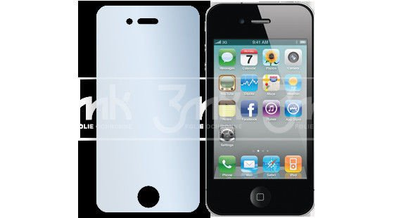 Lustrzana Folia ochronna 3MK Shine do iPhone 4 4S Kliknij 25686de9792