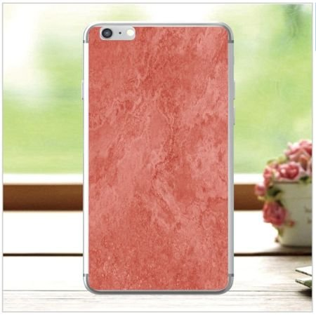 Apple iPhone 6 / 6S - etui na telefon - Kolekcja marmur - marble red - H26