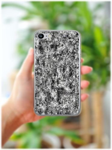 Apple iPhone 7 - etui na telefon - Kolekcja marmur - marble grafit - H18