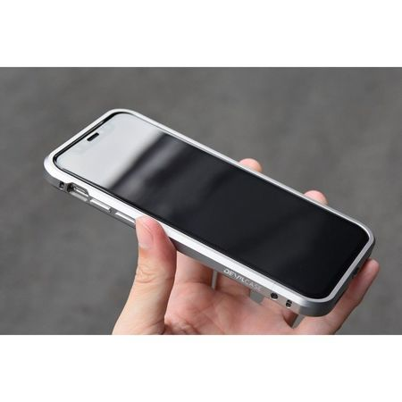 Bumper DevilCase Apple iPhone X / 10 Silver
