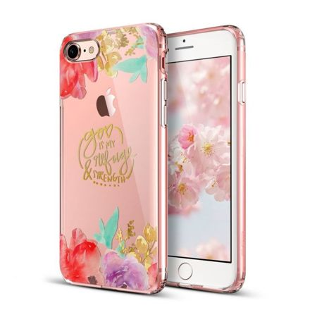 ESR Art Case Aquarelle Flower Apple iPhone 7 / 8