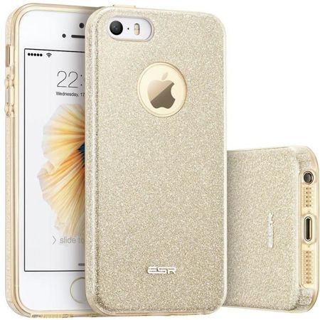 ESR Glitter Shine Champagne Gold Apple iPhone 5 / 5S / SE