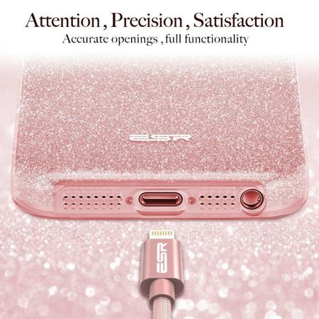 ESR Glitter Shine Rose Gold Apple iPhone 5 / 5S / SE