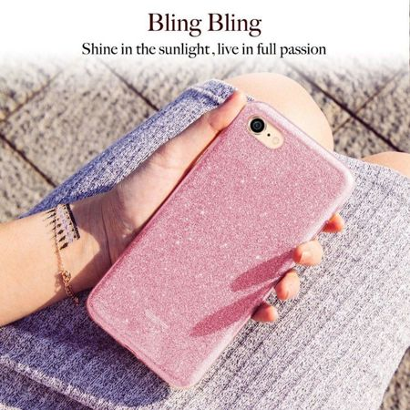ESR Glitter Shine Rose Gold Apple iPhone 7 / 8