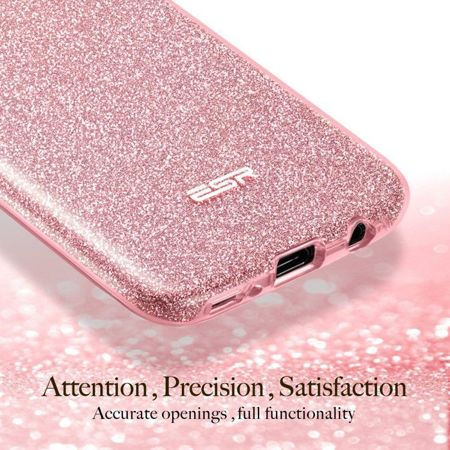 ESR Glitter Shine Rose Gold Samsung Galaxy S8