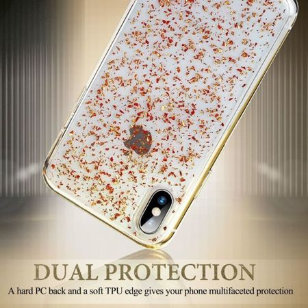 ESR Sparkly Glitter Pink Gold Apple iPhone X / 10