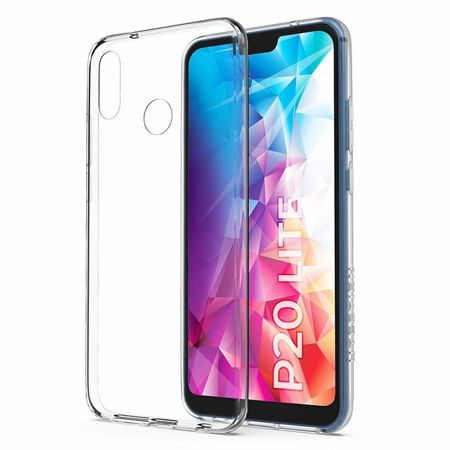 ETUI HUAWEI P20 LITE - ULTRA SLIM CLEAR PRO - TRANSPARENT