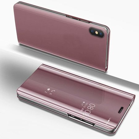 ETUI do Huawei P20 Lite - CLEAR VIEW 2.0 - PINK