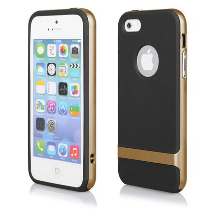ETUI do iPhone 5 5S SE - FX COVER CASE - GOLD