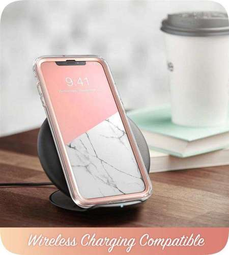 ETUI do iPhone XR | SUPCASE COSMO MARBLE