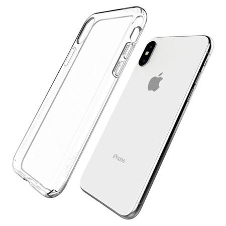 ETUI iPhone X / XS - SPIGEN SGP LIQUID CRYSTAL CLEAR