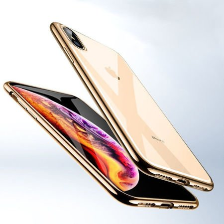 ETUI iPhone XS MAX - ESR ESSENTIAL SLIM - CHAMPAGNE GOLD