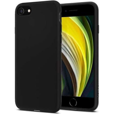 Etui Spigen Liquid Crystal Black na Apple iPhone 7 / 8