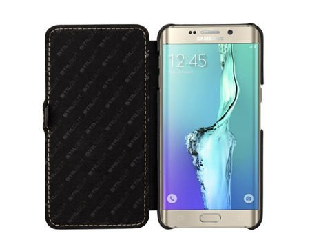 Etui Stilgut UltraSlim Book Samsung S6 Edge Plus Czarne