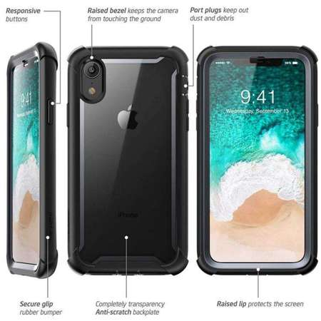 Etui do iPhone XR | SUPCASE IBLSN ARES BLACK