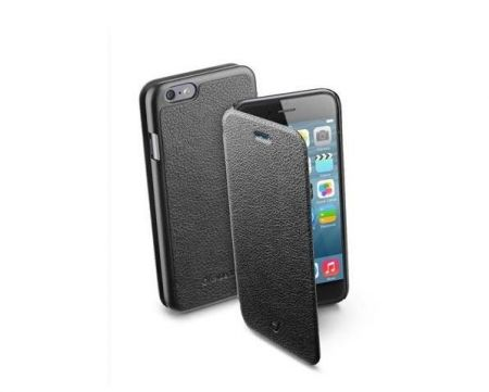 Etui z klapką BOOK ESSENTIAL do iPhone 6/6S, czarne