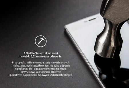 Folia Ceramiczna 3MK Flexible Glass | Huawei Mate 9