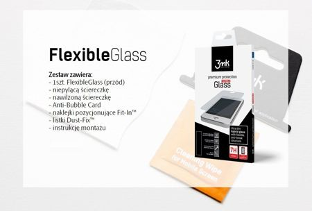 Folia Ceramiczna 3MK Flexible Glass | Samsung Galaxy A8 2018