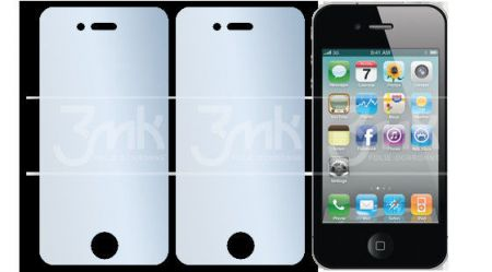Folia OCHRONNA 3MK Solid do iPhone 4 4S (2szt)