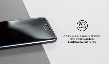 Folia ochronna 3MK Curved ARC Samsung Galaxy S6 Edge Plus