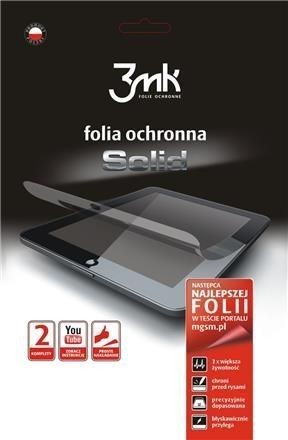 Folia ochronna 3MK SOLID Apple iIPad AIR - 2 sztuki