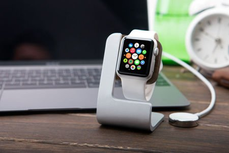 Ładowarka JCPAL Mix Clasic Stand Apple Watch Aluminium